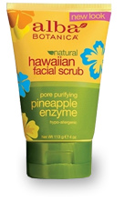 Гавайский скраб для лица / Natural Hawaiian Facial Scrub Pore Purifying Pineapple Enzyme