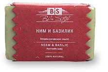 Аюрведическое мыло Ним/Базилик / Ayurvedic soap Neem/Basil