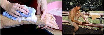 Гель No-Rinse для мытья тела без ополаскивания водой