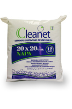 Волокнистая пенообразующая губка Cleanet (20х20 см)
