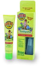 Зубная паста (клубника и банан) / Toddler Toothpaste Strawberry and Banana