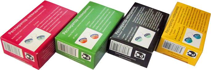 Фильтр для носа Nose Mask - оригинальные упаковки