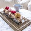 Полотенце столовое для гурманов Кусочек торта Рококо в розовой пудре