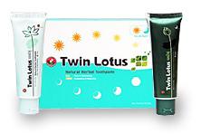 Набор растительных зубных паст День и Ночь / Twin Lotus Day&Night