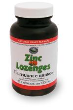 Пастилки с цинком / Zinc Lozenge
