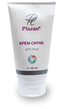 Крем-скраб для лица Plazan