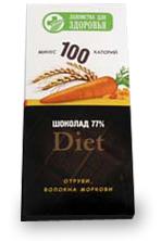 Шоколадная плитка Минус 100 калорий в ассортименте