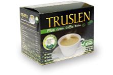 Труслен Кофе с экстрактом не обжаренных кофейных зерен / Truslen Plus Green Coffee Bean
