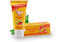 Зубная паста Апельсин и Гранат / Twin Lotus Kids Orange and Pomegranate