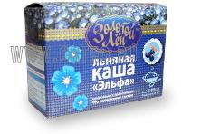Льняная каша Эльфа со вкусом черники (7 пак.)